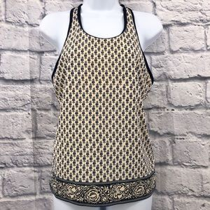 Tory Burch Size Large Scoop Neck Tank Top